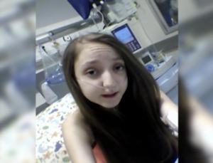 Menina de 14 anos pede autorização para morrer