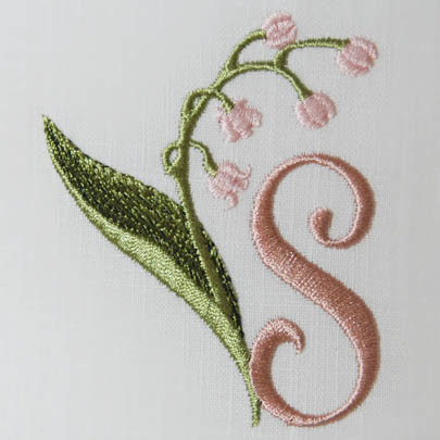 Lily Of The Valley Alphabet S Sonia Showalter Designs