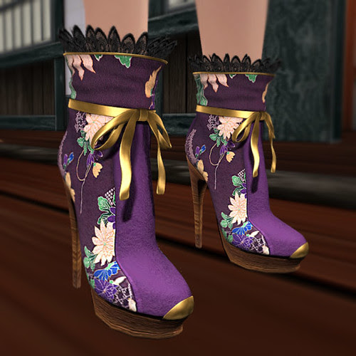 Purple Boots (front)