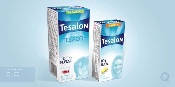Tesalon Medicine Packaging designs 1 30+ Beautiful Examples of Medicine Packaging Designs For Inspiration