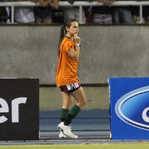 Fernanda Maia ficou famosa após jogo no Engenhão e motivou nova norma