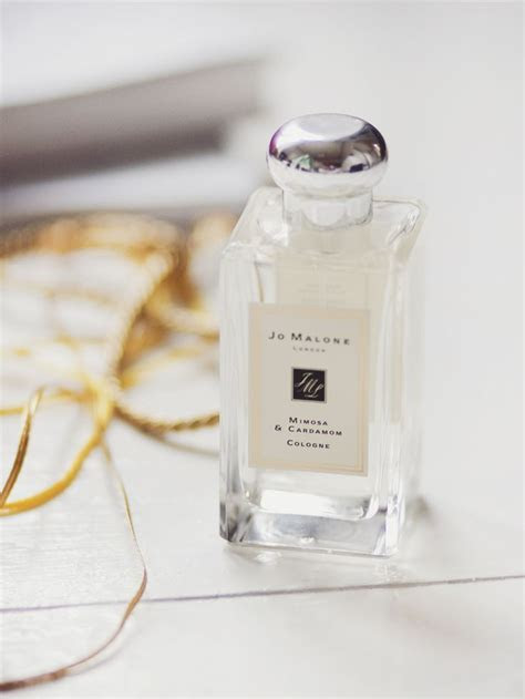Jo Malone Mimosa & Cardamom Cologne.   ghostparties