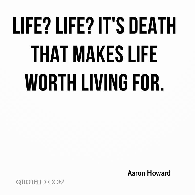 Aaron Howard Death Quotes Quotehd