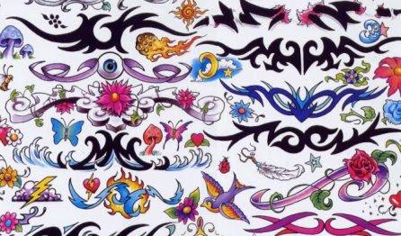 Diseños Tribales Pintados Atractivos Y Diversos Mil Recursos