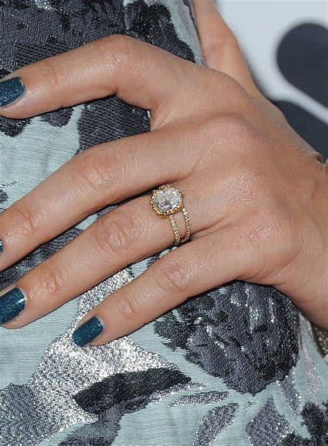 25  best ideas about Celebrity engagement rings on