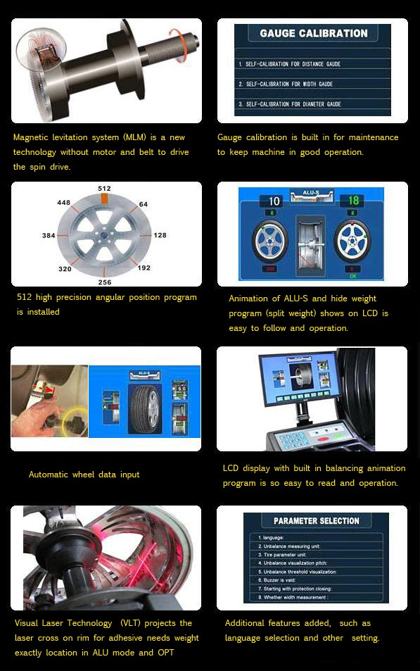 Cwb 766 Wheel Balancer Hydraulic Car Liftcar Diagnostictire Changewheel Balancer4 Wheel