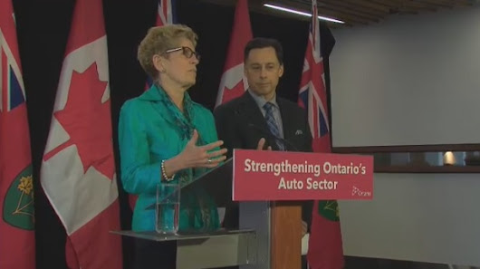 U.S. understands Ontario's importance to auto sector, Wynne says