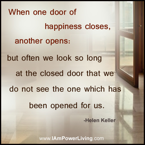 An Open Door Power Living Today