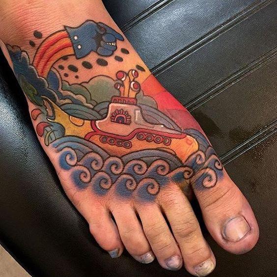 Los Mejores Tatuajes En El Pie Para Hombres Mujeres Y Parejas