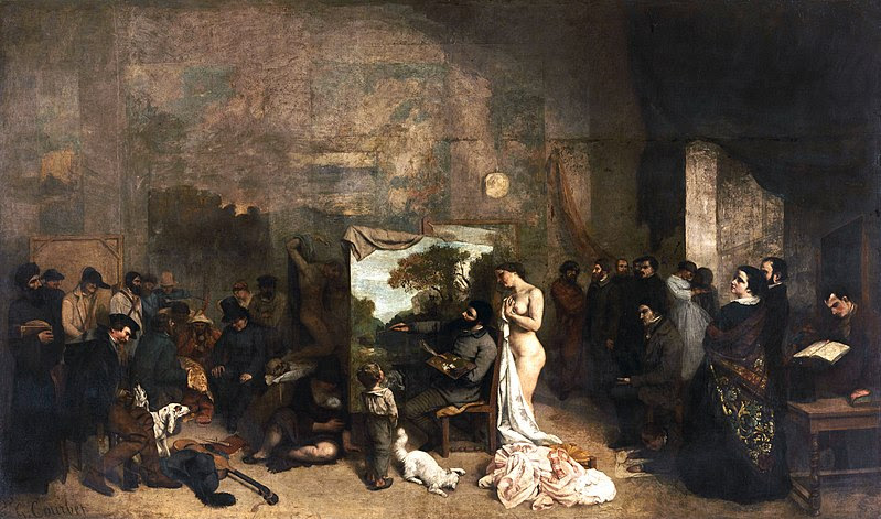 Archivo:Courbet LAtelier du peintre.jpg