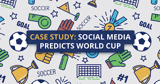 Who'll win the World Cup (according to social media)