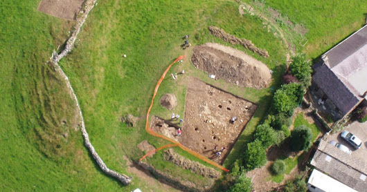 Archaeologists in Gwynedd discover medieval castle during excavation