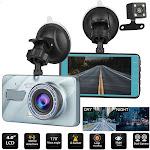 Full HD 1080P Car Dash Camera with Loop Recording, G-Sensor, and Night Vision