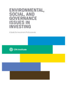 Image result for esg investing cfa
