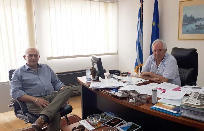 Άρτα: Συνάντηση του Δ/ντή των ΕΠΑ.Σ ΟΑΕΔ Άρτας με τον πρόεδρο του Επιμελητηρίου