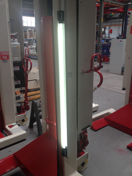 Professional Lighting Key to Safety in Vehicle Maintenance Shops | Stertil-Koni USA