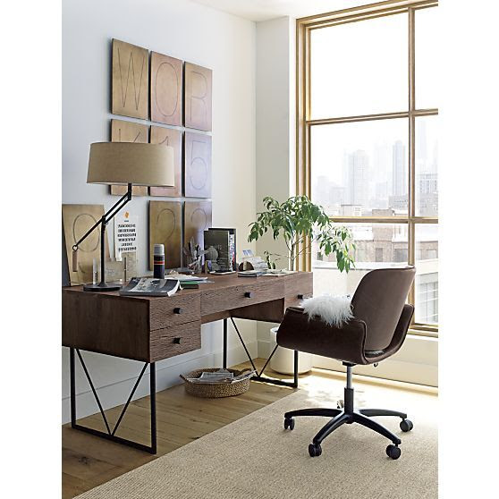 Hughes Office Chair   Crate and Barrel   Work Ethic