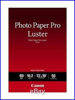 Canon Genuine Photo Paper 1319 100 Sheet Pro Luster 200 Sheet