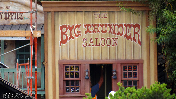 Disneyland Resort, Disneyland, Frontierland, Big Thunder Mountain Railroad, Refurbishment, Refurb