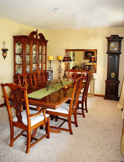 Blah To Beautiful Dining Room Makeover