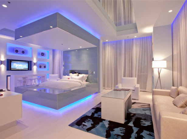 Home Architec Ideas Bedroom Design Led
