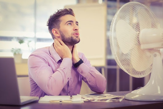 Top tips for working in hot weather