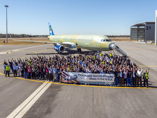 Airbus lifts employees' lives, transforms Alabama industry