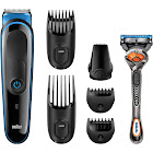 Braun Multi Grooming Kit Mgk3045 - 7-in-1 Precision Trimmer for Beard and Hair Styling