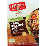 Fantastic World Foods Mix - Taco Filling - 3.7 oz - case of 6