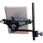 """AirTurn MANOS Universal Mount w/ Side Mount Clip 8"""" Extension Arm (Combo Pack) - iOS Accessories - iOS Devices - M-MANOS-SMC"""