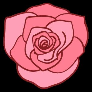 バラの花の無料素材23 花植物イラスト Flode Illustration フロデ
