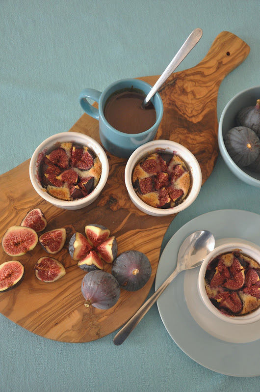Figs Baked in Almond Cream - Food Lover's Odyssey