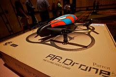 Parrot AR Drone flights