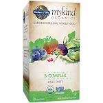 Garden of Life - mykind Organics Whole Food Vitamin B-Complex (30 Vegan Tablets) - Vitamin B Complex