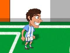 كرة قدم مضحكة