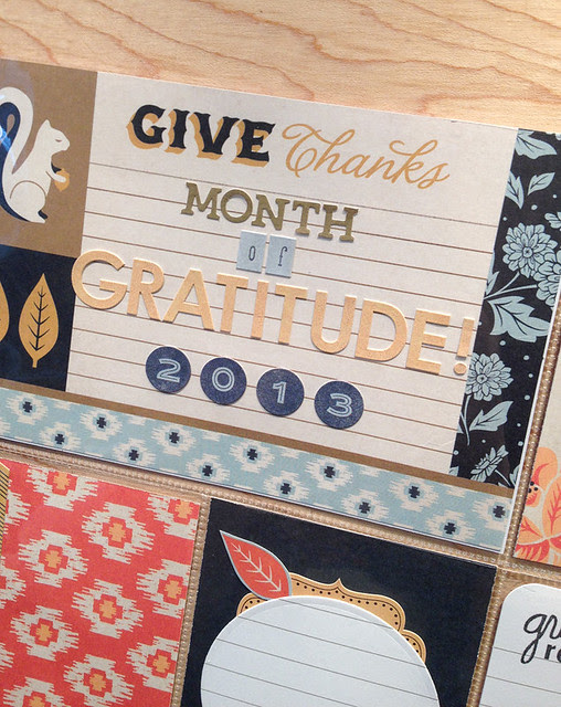 month of gratitude card Kimberly Crawford