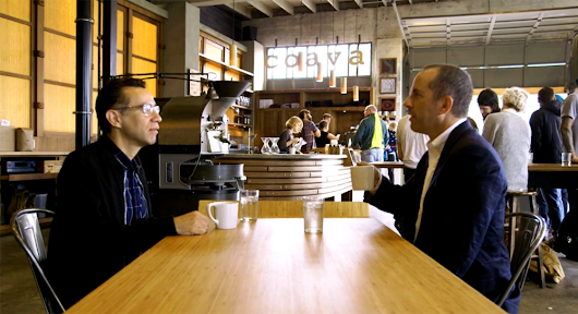 Jerry Seinfeld and Fred Armisen Grab Coffee in Portland