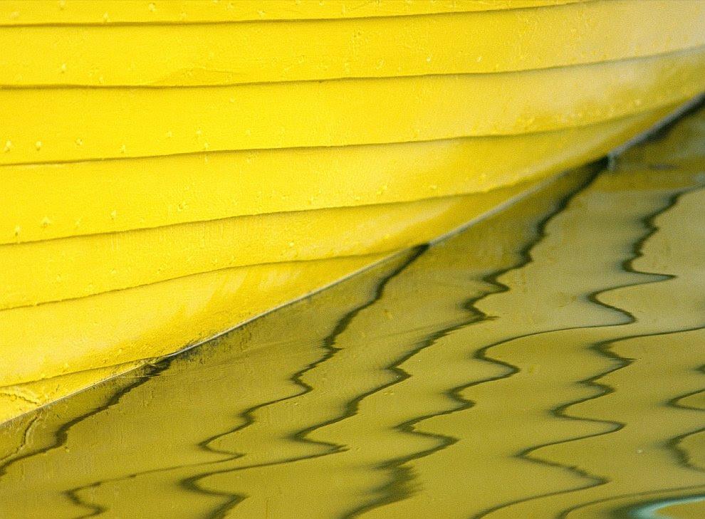 Желтая лодка