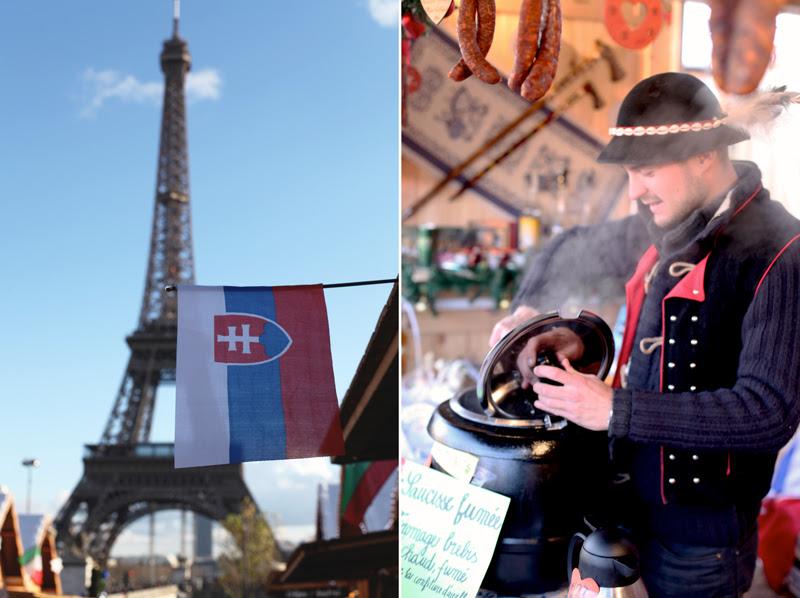 Le Marché de Noël du Trocadéro