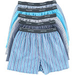 Fruit of the Loom Men's Exposed Waistband Woven Boxers - Multiple