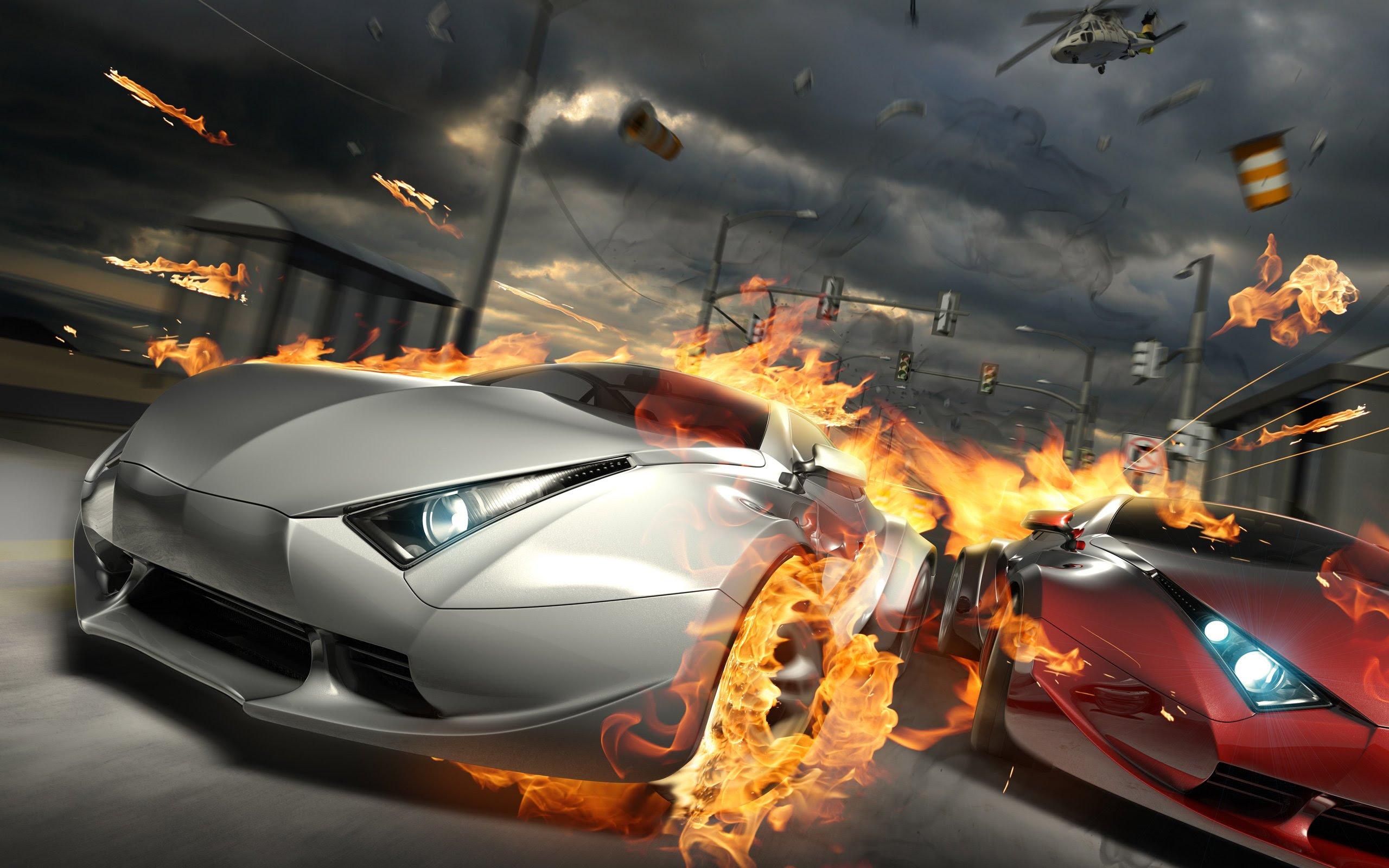 Destructive Car Race Wallpapers  HD Wallpapers  ID 8695