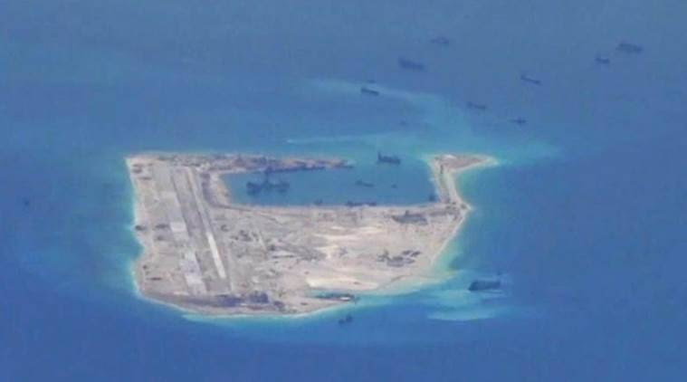 China, Indian ocean, Underwater surveillance, China underwater surveillance network, Haiyi, South China Sea, world news, indian express news