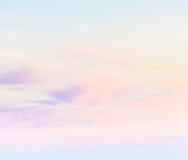 Rose Gold Minimalist Rainbow Iphone Wallpaper
