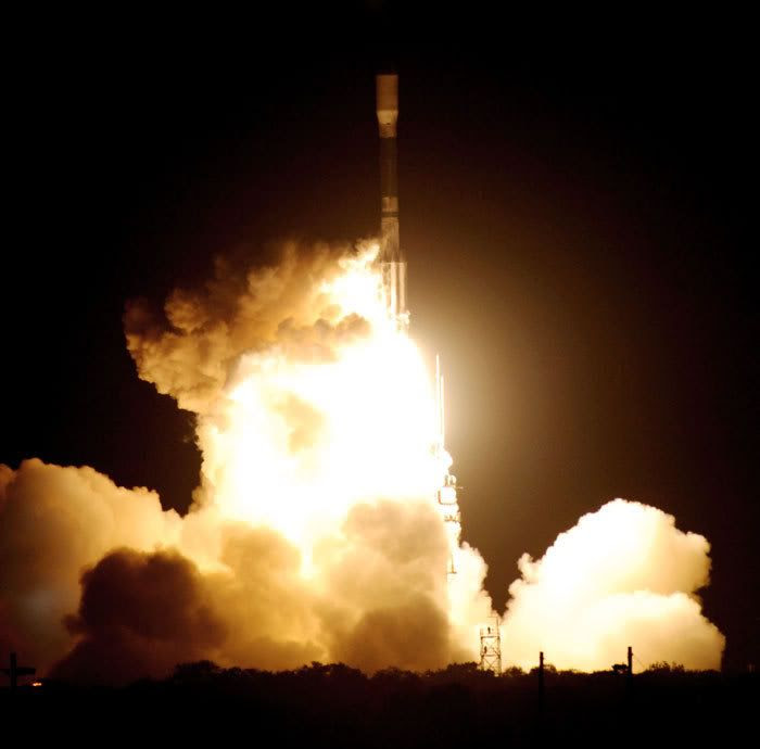 The KEPLER spacecraft is launched from Cape Canaveral Air Force Station in Florida on March 6, 2009.