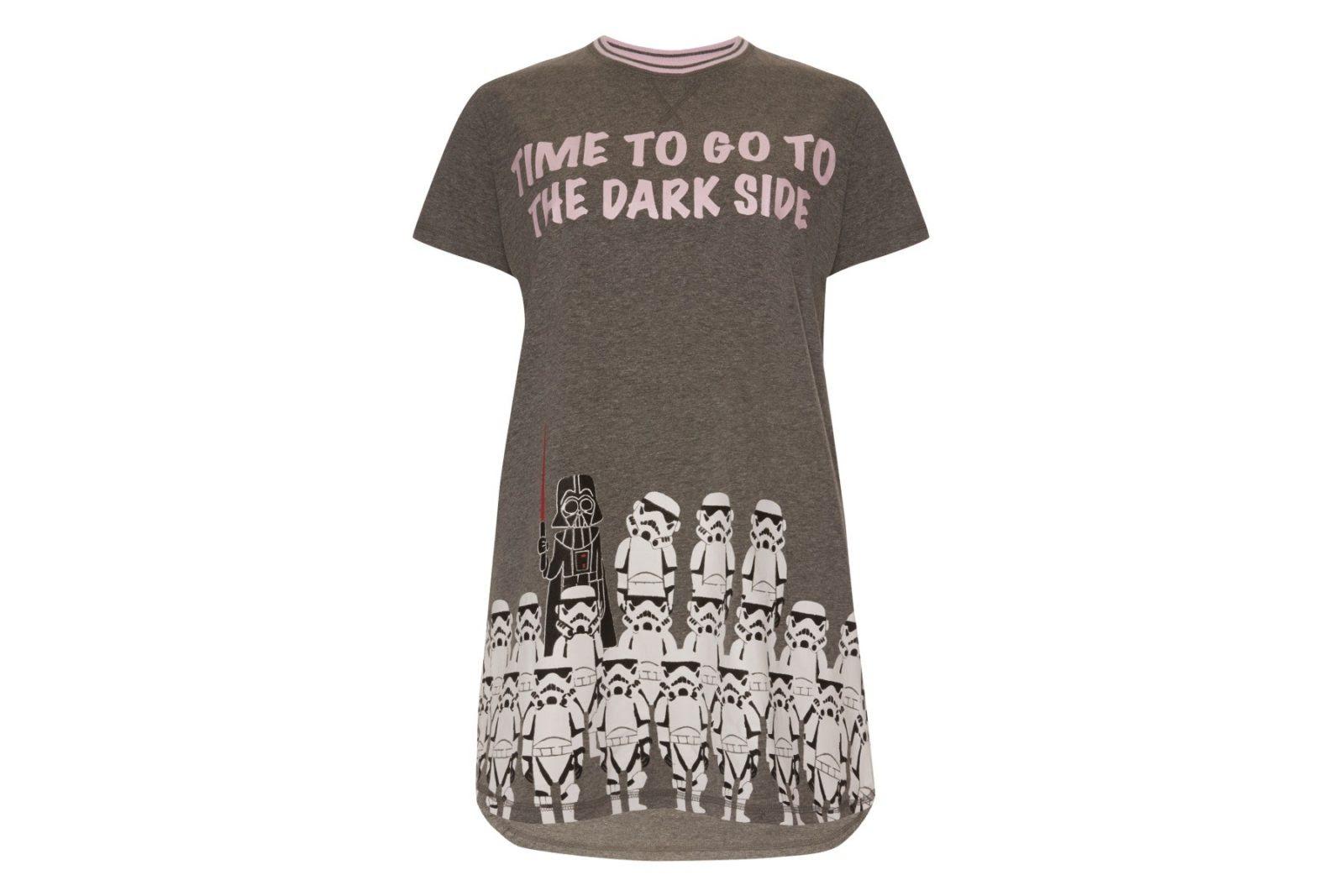 damen star wars primark nightie disney come to the dark side