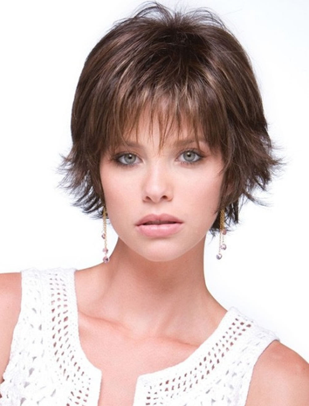 40+ Hairstyle For Oval Face With Thin Straight Hair, Great Inspiration!