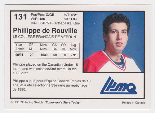 College Francais - De Rouville back