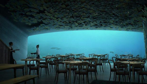 Αυτό Είναι το Πρώτο Υποβρύχιο Εστιατόριο της Ευρώπης