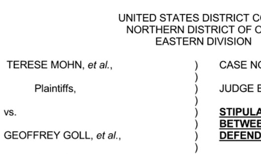 Salem Attorney Geoffrey Goll and DDY, Inc. Agree to Settle Federal Debt Collection Lawsuit Filed by Ohio Consumers