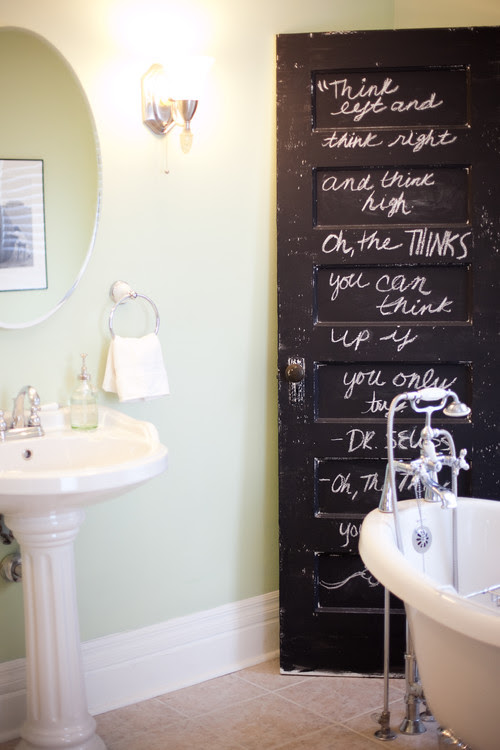 eclectic bathroom by Birdhouse Interior Design Consulting